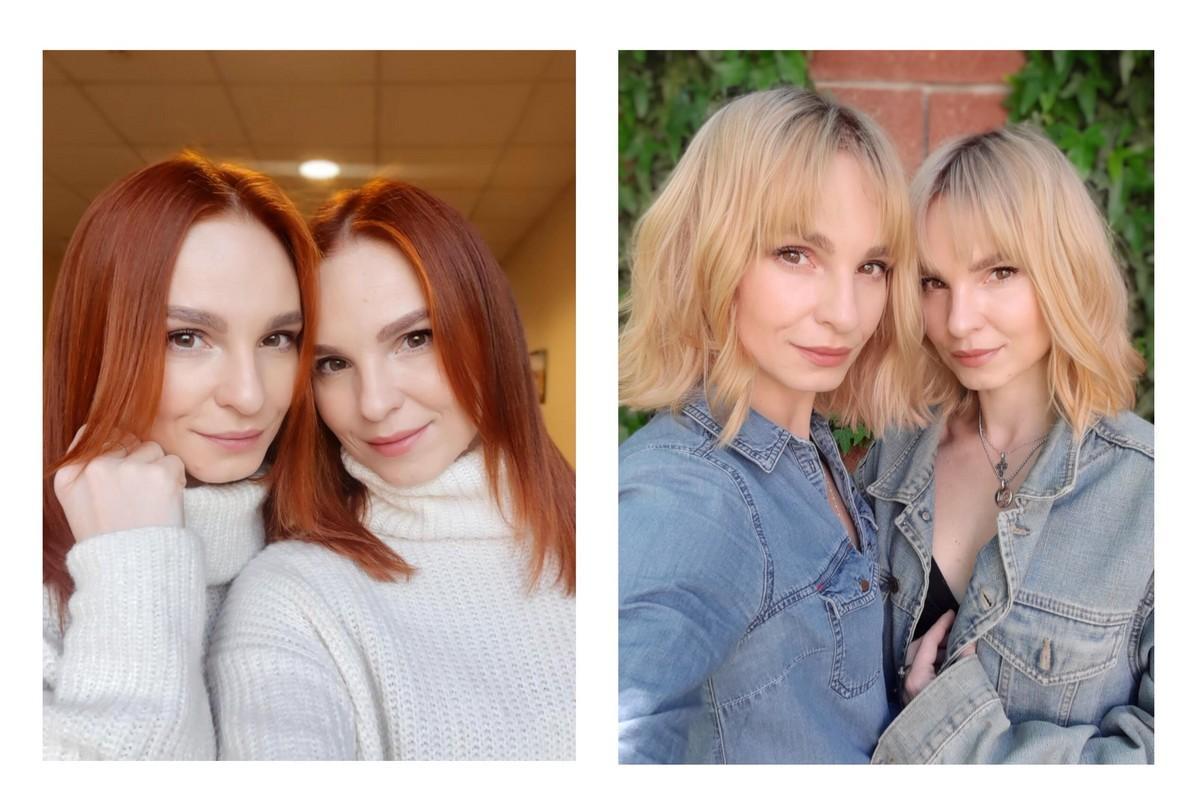 Anna Maria (до и после) Дуэт Anna Maria удивили кардинальной сменой образа