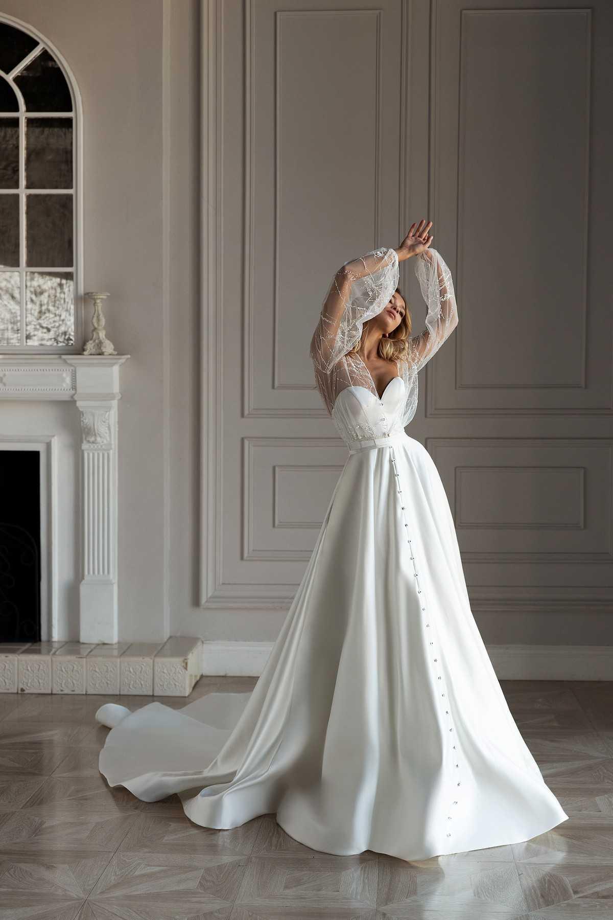 Diora Новая свадебная коллекция Less is more бренда Eva Lendel