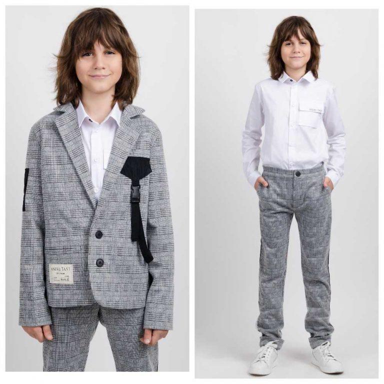 Андре Тан – о школьной одежде в осенне-зимней коллекции Andre TAN Kids