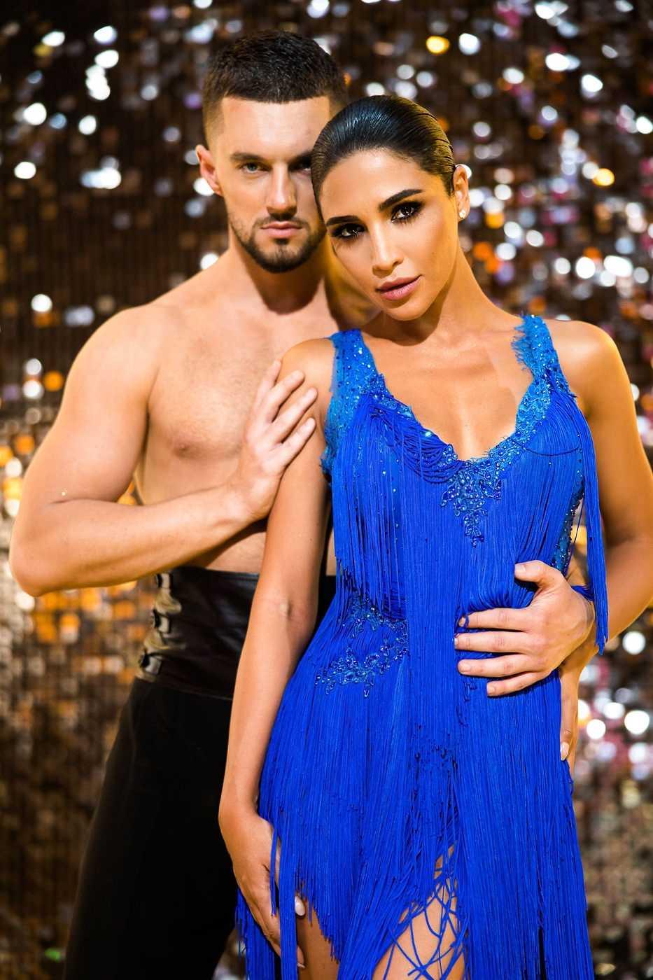 Танці з зірками-4 Санат Дімопулос та Макс Леонов