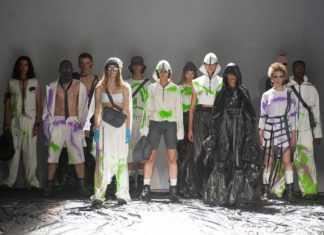 UFW 20-21 показ коллекции Roussin «Never bethe same»