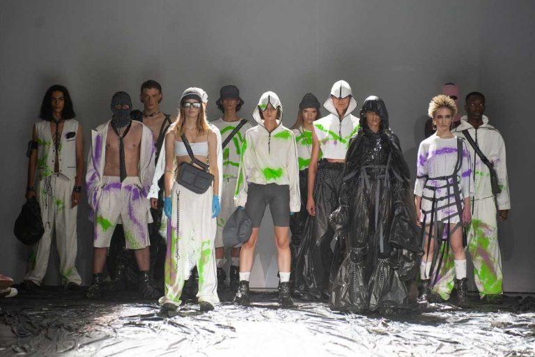 Показ коллекции Roussin «Never bethe same» в рамках Ukrainian Fashion Week 20-21