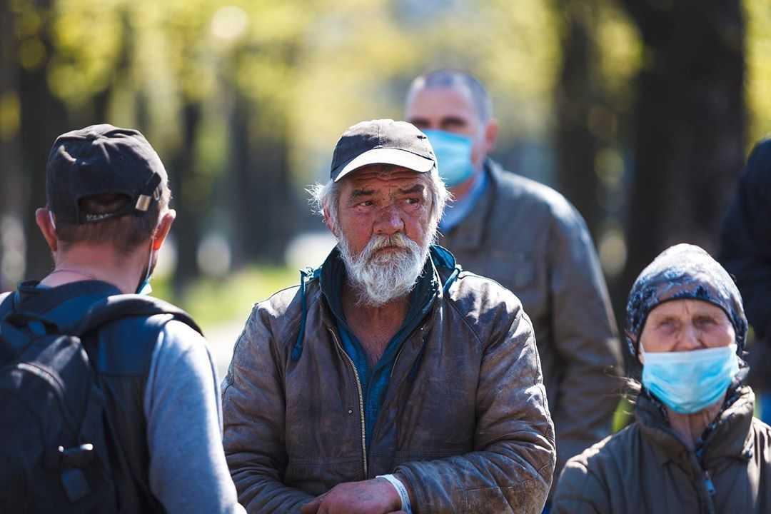 Украинские активисты сняли фильм о тех, кто оказался на улице во время пандемии