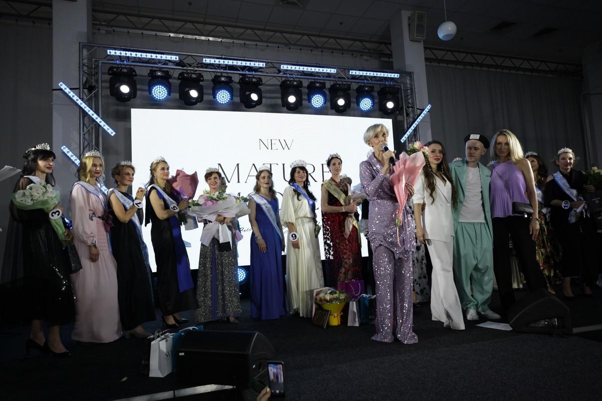 Конкурс краси Miss New Mature визначив переможниць у вікових категоріях 40+, 50+ і 60+