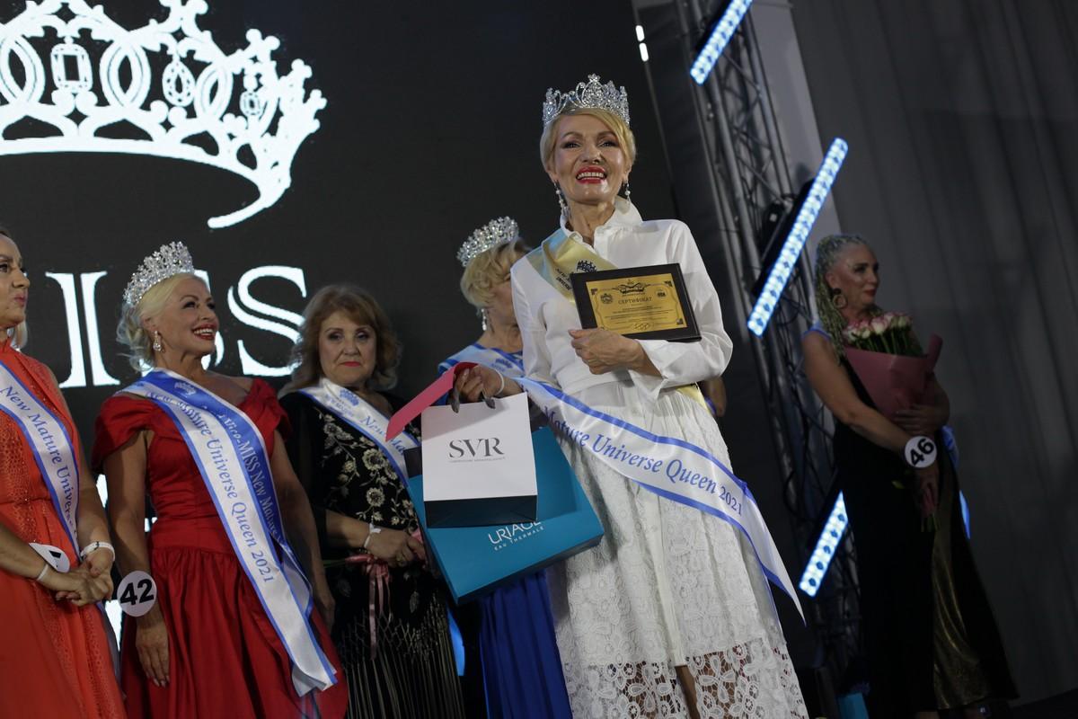 Переможниця категорії 60+ – Людмила Абрамова